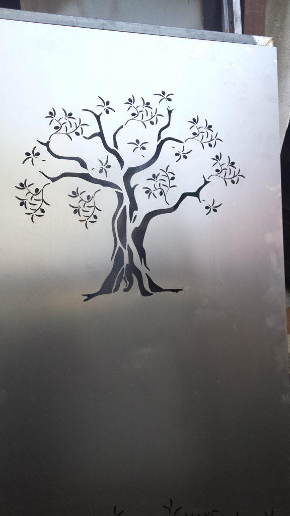 Favori Porte motif olivier en découpe laser – Workflow design VX47